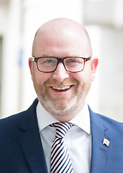 © Licensed to London News Pictures. 23/04/2017. London, UK. Leader of UKIP Paul Nuttall arriving at BBC Broadcasting House to appear on The Andrew Marr Show this morning. Photo credit : Tom Nicholson/LNP