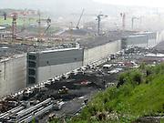 Panama-2014<br /> Atlantic expansion, new lock gates.