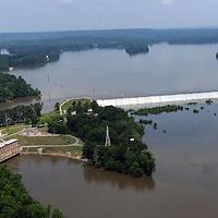 Blewett Falls Dam and Lake, Yadkin River, NC