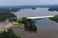 Blewett Falls Dam and Lake, Yadkin River, NC