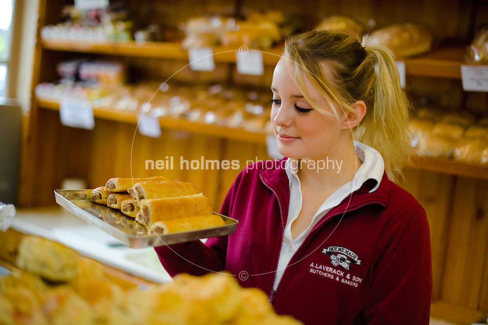 Home Made Bakery. Pictured Jes Evans. Holme on Spalding Moore
