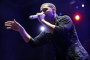 Drake performing at The Bamboozle in East Rutherford, New Jersey on May 1, 2010.