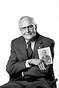 John Wilkenson<br /> Navy<br /> WWII<br /> Signalman, Armed Guard<br /> E-2<br /> 09/43-05/46<br /> <br /> Veterans Portrait Project<br /> Hazlet, NJ<br /> Rarity High School