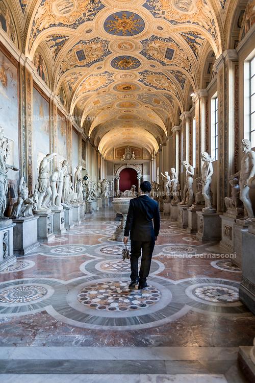 Rome, Vatican Museums, Galleria delle statue