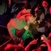 Action Bronson performing at The Warner Sound captured by Nikon at The Belmont  during SXSW 2013 on March 12, 2013.