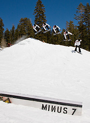 Minus 7 Melee Snowskate contest, 2009 at Donner Ski Ranch, California