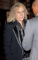 David Bryan attends Memphis Press Night at The Shaftesbury Theatre, Shaftesbury Avenue, London on Thursday 23rd October 2014