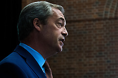 2016-07-04 UKIP Leader Nigel Farage announces he is to step down
