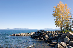 """Lake Tahoe in Autumn""- This scene was photographed just north of Idlewild, Lake Tahoe, CA."
