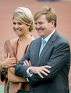 25-10-2015 beijing -  King Willem Alexander and Queen Maxima  visit the Shijia Primary School to watch a soccer truing and demonstrations.  King Willem Alexander and Queen Maxima will visit China for a 5 day state visit from 25 till 29 oktober 2015  . King Willem-Alexander and Queen Maxima of The Netherlands visit the Shijia primary school for a football training in Beijing, China, 25 October 2015. During the visit former Dutch keeper Edwin van der Sar gives van training. The King and Queen are in china for an 5 day state visit. COPYRIGHT ROBIN UTRECHT