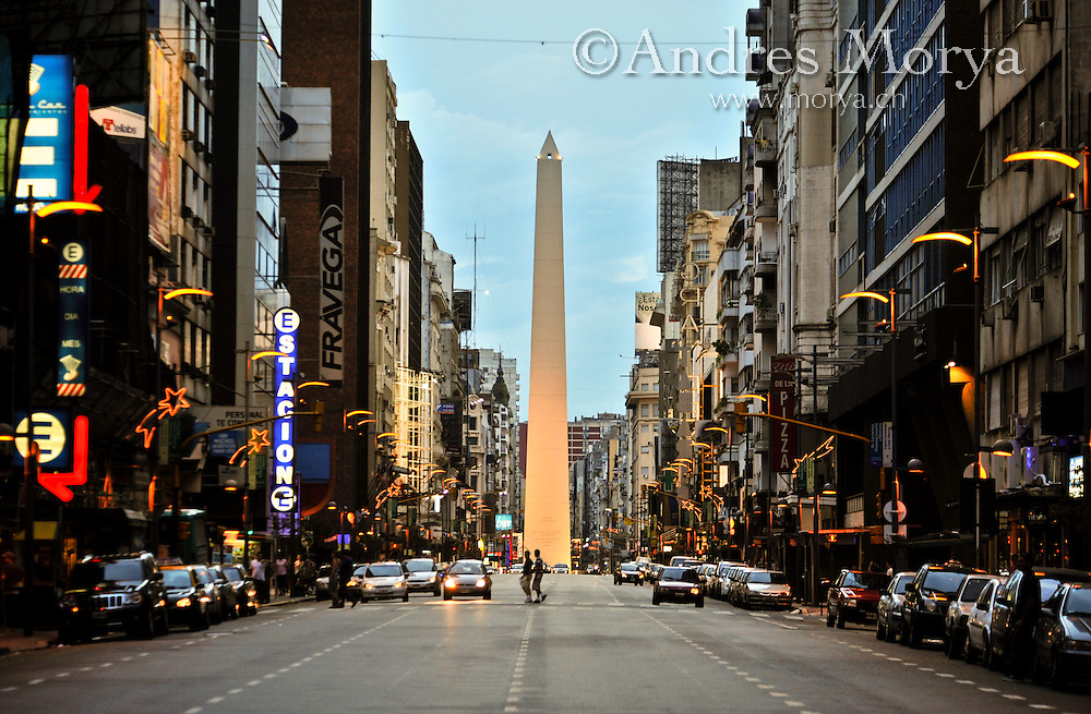 Obelisk night buenos andres morya photography for Muebles de oficina buenos aires capital federal