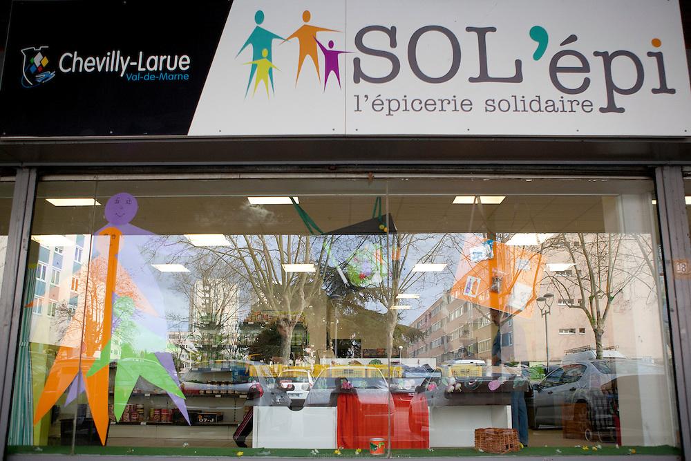 Sol'épi, épicerie solidaire, Chevilly-Larue