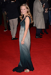 Alicia Von Rittberg attends The European Premiere of Fury at the Closing Gala of BFI LFF at Odeon Leicester Square, London on 19th October 2014