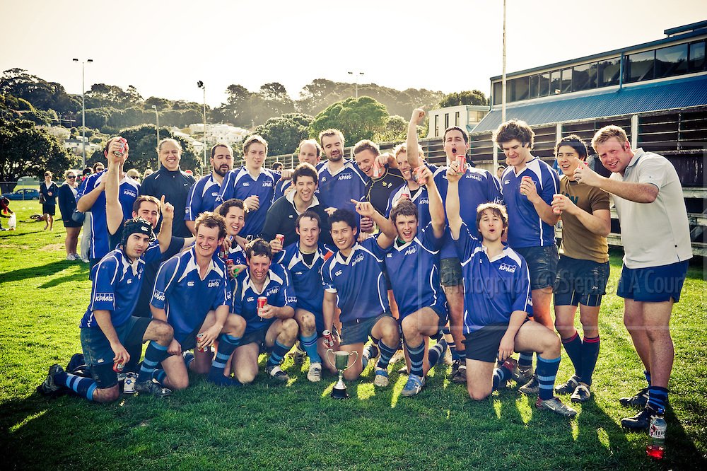 KPMG Wellington, Firm of Origin rugby tournament, September 2011.