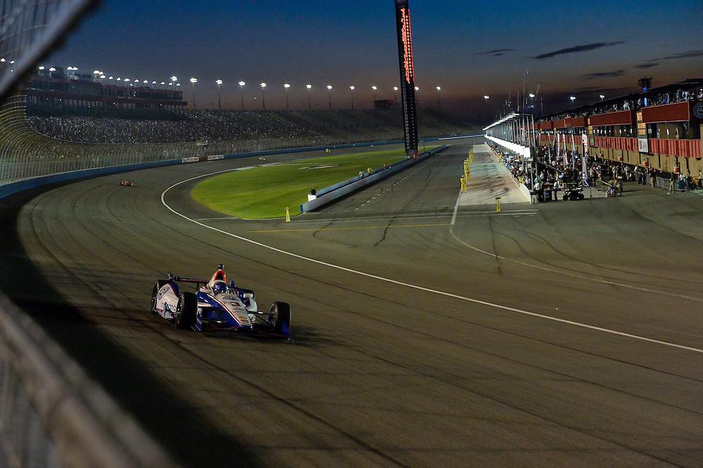 Helio Castroneves, Auto Club Speedway, Fontana, CA USA 8/30/2014