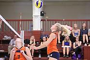 VBALL: 27-8-2016 - Orion Dames (NED) - Fortuna Odense (DEN) - Practice