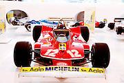 Medena, Casa Museo Enzo Ferrari. Jilles Villeneuve's car