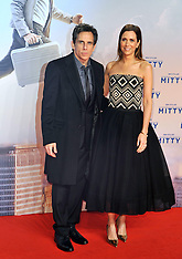 DEC 11 2013 German premiere of the film The Secret Life Of Walter Mitty