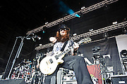 Saliva perform at Pointfest 26 at Verizon Wireless Amphitheater in St. Louis on June 6, 2010