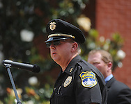 Mike Martin at Peace Officer Memorial Day on Friday, May 14, 2010 in Oxford, Miss.
