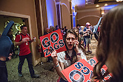 Gonzaga hosted an alumni social before the men's basketball game vs. Pacific on March 4 in the Orleans Hotel.