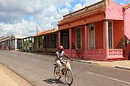 Bicycle in San Cristobal, Artemisa, Cuba.