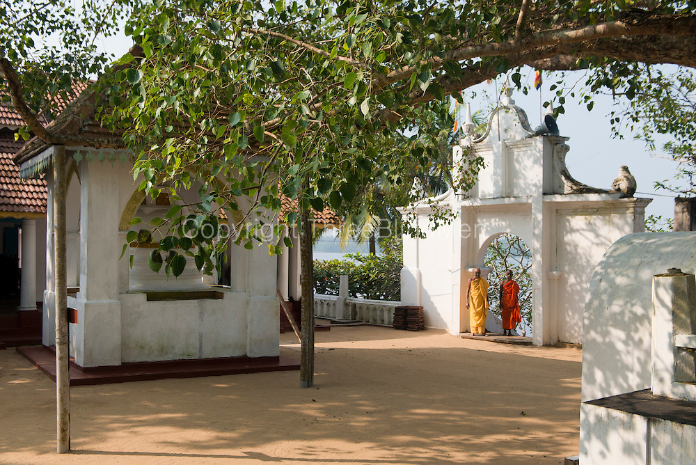 The Kothduwa temple, or Koth Duwa Raja Maha Viharaya, is a Buddhist temple located on Kothduwa island on the Maduganga river in southern Sri Lanka.