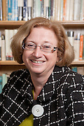 Ms Penny Cameron Watt, Governor, Magdalen College School 2010, Photographed in the school library.