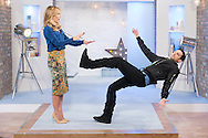 Dynamo and Amanda Holden - This Morning Live on ITV 25-09-2014.<br /> Image Can be licensed for use at www.rexfeatures.com