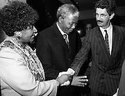 02/07/1990<br /> 07/02/1990<br /> 02 July 1990<br /> Nelson Mandela visits Ireland.<br /> Meeting Dick Spring.
