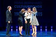 Koningin Máxima reikt de Prins Bernhard Cultuurfonds Prijs 2015 uit aan architect Francine Houben in