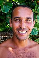 Man in Maguana, Baracoa, Guantanamo, Cuba.