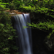 &quot;Cucumber Falls&quot; 4 <br /> <br /> A wonderful calm and dreamy scenic waterfall in Ohiopyle State Park!!<br /> <br /> Waterfalls by Rachel Cohen
