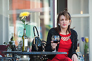 City Concierge Louisville's Laura Wallace outside Market Street's Taste Fine Wines and Bourbons Saturday, April 13, 2013 in Louisville, Ky. (Photo by Brian Bohannon)