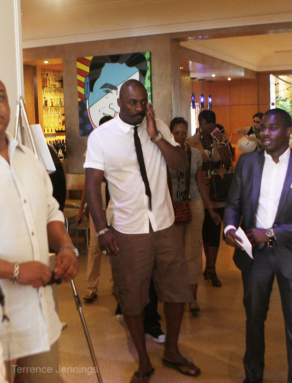 24 June 2010- Miami Beach, Florida- Idris Elba at the The 2010 American Black Film Festival Founder's Brunch held at Emeril's on June 24, 2010. Photo Credit: Terrence Jennings/Sipa