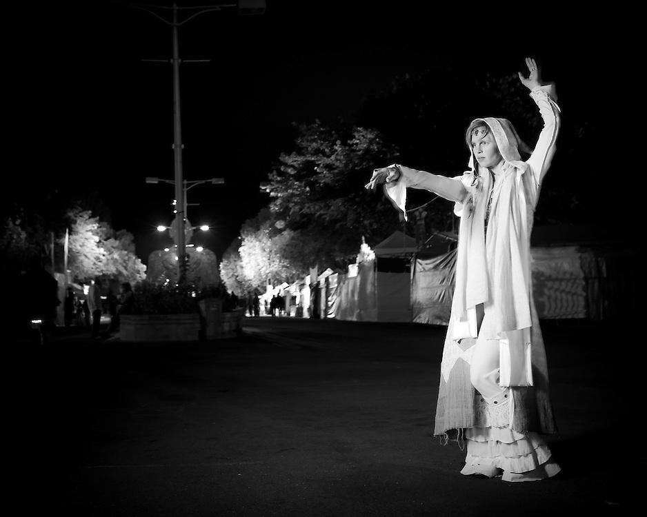 Ashley led the Midnight Ritual at Earthdance 2011