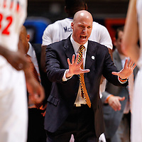 CHAMPAIGN, IL - JANUARY 05: Head coach John Groce of the Illinois Fighting Illini seen on the sidelines during the game against the Ohio State Buckeyes at Assembly Hall on January 5, 2013 in Champaign, Illinois. Ilinois defeated Ohio State 74-55. (Photo by Michael Hickey/Getty Images) *** Local Caption *** John Groce