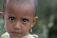 A girl from the local village on Mt Tompotika, Central Sulawesi