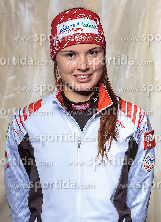 08.10.2016, Olympia Eisstadion, Innsbruck, AUT, OeSV Einkleidung Winterkollektion, Portraits 2016, im Bild Anna Juppe, Langlauf Damen // during the Outfitting of the Ski Austria Winter Collection and official Portrait Photoshooting at the Olympia Eisstadion in Innsbruck, Austria on 2016/10/08. EXPA Pictures © 2016, PhotoCredit: EXPA/ JFK