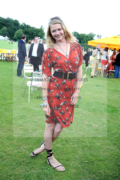 JODIE KIDD at the 2008 Veuve Clicquot Gold Cup polo final at Cowdray Park Polo Club, Midhurst, West Sussex on 20th July 2008.<br /> <br /> NON EXCLUSIVE - WORLD RIGHTS