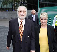 SEP 26 2014 David Lee Travis arrives at Southwark for sentencing today