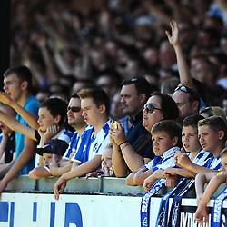 Fans  - Mandatory byline: Joe Meredith/JMP - 07966386802 - 08/08/2015 - FOOTBALL - Memorial Stadium -Bristol,England - Bristol Rovers v Northampton Town - Sky Bet League Two