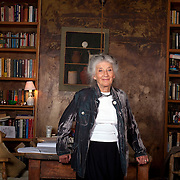 Actress  Phyllida Law photographed at her home in London.for the Lady magazine
