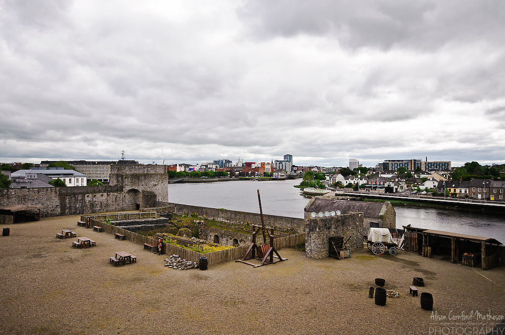 King John's Castle is a fortification on King's Island in Limerick, Ireland.
