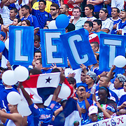 EL Salvador fans at the concacaf gold cup quarterfinals Sunday, June 19, 2011 at RFK Stadium in Washington DC.