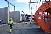 Nea Hydropower plant. Kraftverket er størst av de åtte kraftverkene i Tydal og forsyner samfunnet med 675 Gwh i året.