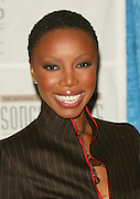Heather Headley at the 33rd Annual Songwriters Hall Of Fame Awards induction ceremony at The Sheraton New York Hotel in New York City. June 13 2002. <br /> Photo: Evan Agostini/PictureGroup