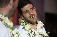 The Laser World Championships 2013 -  Standard. Mussanah Oman<br /> Pavlos Kontides (CYP) 2nd overall<br /> <br />  Oman.Credit: Lloyd Images.