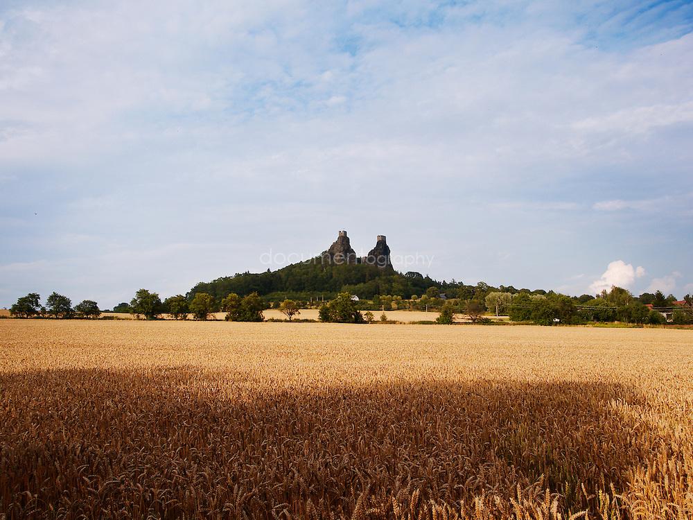 Trosky castle, Cesky Raj, Czech republic.
