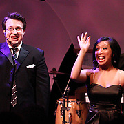 Drew Helton (left) and Ria Villaver during a performance of Broadway Beat during the 14th Annual ArtsGala at Wright State University's Creative Arts Center, Saturday, April 6, 2013.